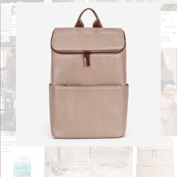 e2b45131ae15 MATT   NAT Brave Dwell 100% Vegan Backpack Blush. M 5b4e6e25baebf6ac0e23a637